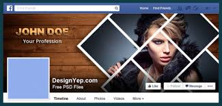 free photography facebook cover psd