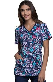 Scrub Top Patterns Adorable Cherokee Print Scrub Tops Allheart