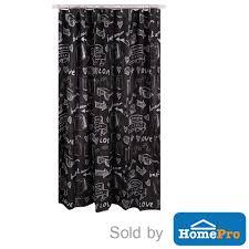 shower curtain moya poly acs16043 180x180cm