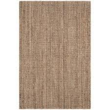 safavieh natural fiber beige grey 4 ft x 6 ft area rug