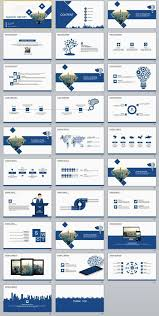 Company Report Template Mesmerizing 48 Blue Fashion Report PowerPoint Templates Powerpoint Templates