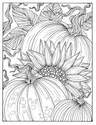 sunflower coloring pages printable page book for s