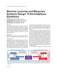 Embedded Computing Systems Applications Optimization And Advanced Design Pdf Machine Learning And Manycore Systems Design A