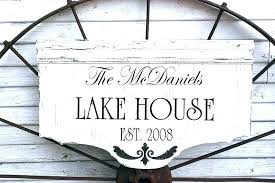 outdoor house signs custom beach house signs mouse wooden lake personalized outdoor personalized outdoor house signs