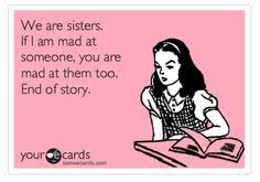 Someecards Sisters on Pinterest | Lol, Haha So True and Lmfao via Relatably.com