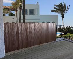 Windschutz Sichtschutz Verkleidung F R Balkon Terrasse Zaun