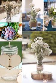 Wedding Table Decorations With Mason Jars wedding reception centerpieces with mason jars cool decorations 2