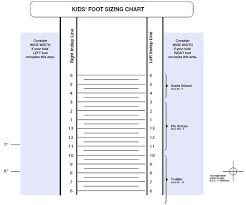 New Balance Childrens Size Chart Susan Arnett Adairarnett On Pinterest
