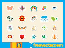 freevector sticker vectors jpg