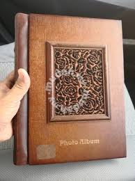 Photo Albulm B381 Vintage Wooden Cover Photo Album Hobby Collectibles For Sale In Old Klang Road Kuala Lumpur