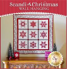 Scandi Christmas - Wall Hanging Quilt Kit &  Adamdwight.com