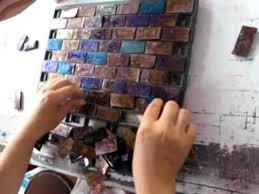 ion of sovalli iridescent glass mosaic tiles