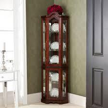 elegant corner curio cabinet ikea
