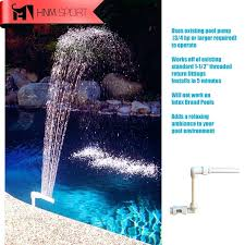 above ground pool waterfalls new sport pool decor spa fountain above in ground swimming pools waterfall above ground pool
