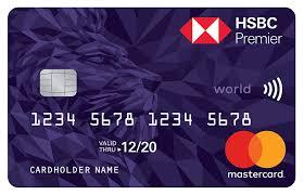 premier credit card hsbc uae