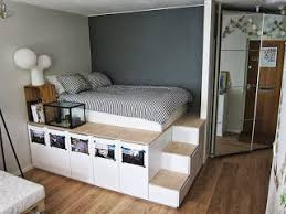 platform bed with stairs. Brilliant Stairs Elevated Bed With Stairs And Storage Iu0027m Doing This In Platform Bed With Stairs O