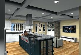 interior open floor plan kitchen design plans excellent harmonious 4 living room ideas exce