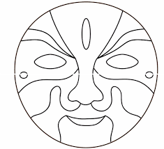 Coloring: African Masks Coloring Pages