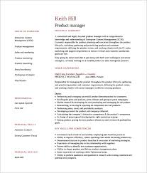 Product Manager Resume Simple 28 Product Manager Resume Templates To Download For Free Sample