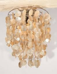 gold capiz chandelier chandelier parts shell hanging light capiz pendant light shade