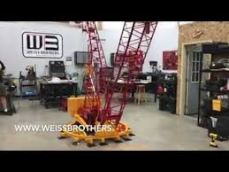 Weiss Brothers 1 8th Scale Manitowoc 4100 Ringer Remote