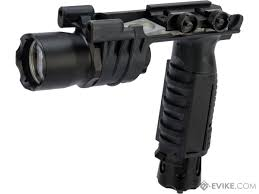 Vertical Foregrip With Light Night Evolution M910a Vertical Foregrip Weapon Light Color