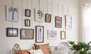 hanging wall art frame