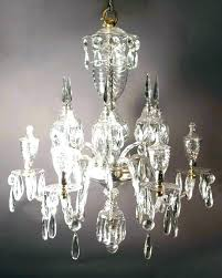 chandeliers chandelier antique crystal old parts medium size vintage for rock ch
