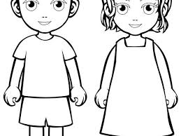 Small Picture Coloring Pages Boy And Girl Boys Girls nebulosabarcom