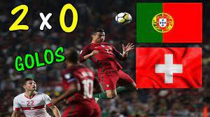Portugal 2 x 0 Suiça - TODOS OS GOLOS- Apuramento Mundial 2018 Russia  10.10.2017 - YouTube