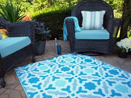 modern blue outdoor rugs for patios