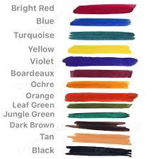 cobblestone leather dye colours cobblestone leather colour chart fiebings leather dye