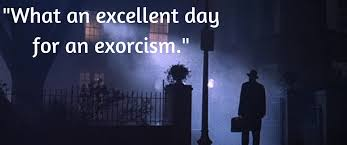Exorcist Quotes Amazing Top 48 Horror Quotes Costume Discounters Blog