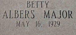 Photos of Betty Barton Albers Major - Find A Grave Memorial
