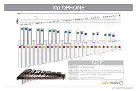 How To Play The Xylophone In Colormusic Music Theory