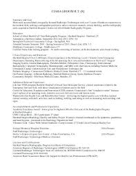 Radiologic Technologist Resume Examples Amazing Radiologic Technologist Resume Templates X Ray Tech Cover Letter