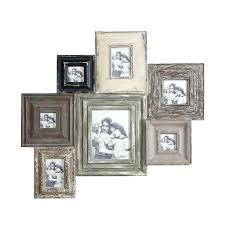 multiple picture frames rustic. White Wooden Multiple Photo Frame Wood Multi Multiple Picture Frames Rustic