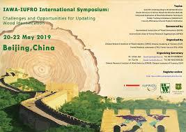 Further Discuss Iawa Iufro International Symposium For Updating Wood Identification
