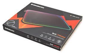Обзор серии игровых <b>ковриков</b> c RGB-подсветкой <b>SteelSeries</b> ...