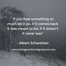 Quotes About Letting Someone Go