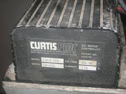 stefan spännare electric motor and curtis controller