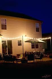 outdoor patio solar lights. Patio Ideas: Lights For Rectangular Umbrella Solar Outdoor Columns Make Your