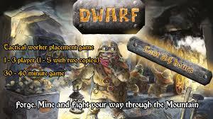 Dwarf board game by Timo Multamäki @ Arctic Union — Kickstarter