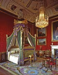 The monarch, who regularly spends her weekends at the lavish estate. Phillip Elizabeth The Queen At Windsor Castle Royal Bedroom Palace Interior Remodel Bedroom