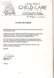 Cover Letter Childcare Cover Letter Example Child Care Assistant