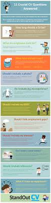 the most common cv writing questions answered infographic e the 11 most common cv writing questions answered infographic