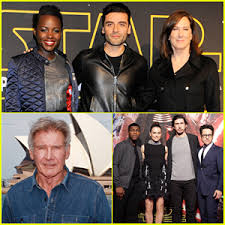 the force awakens cast. Wonderful The U0027Star Wars The Force Awakensu0027 Cast Make Their Rounds Across Globe And Awakens A