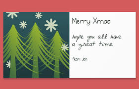 christmas postcard maker online christmas card maker