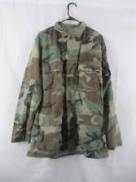 Details About Bdu Shirt Coat Medium X Long Cold Weather Winter Weight Woodland Usgi Army