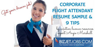 Sample Resume For Flight Attendant Corporate Flight Attendant Resume Sample 9 Tips